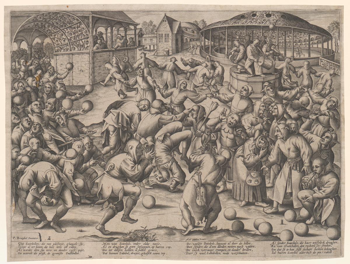 Sottebollen, of het Zottenfeest