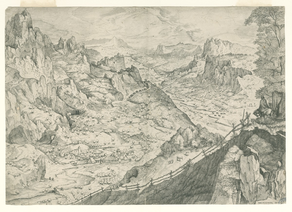 Groot Alpenlandschap